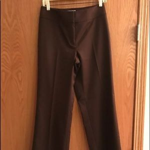 Talbot's 4 stretch slimming brown trousers pants